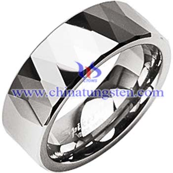 tungsten carbide flat ring